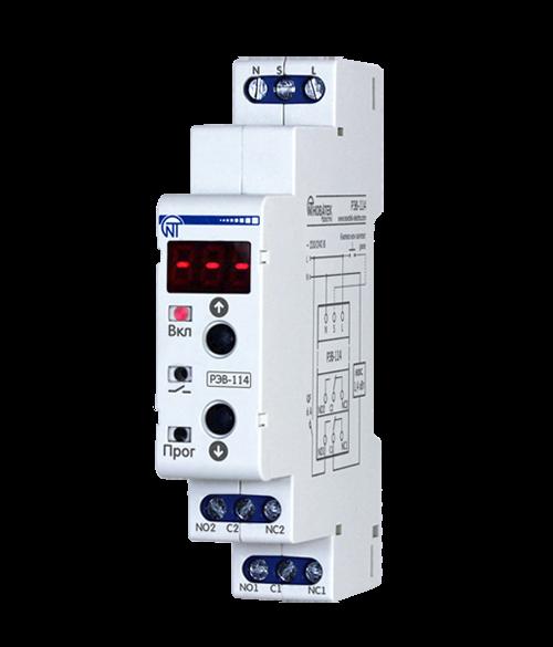 реле времени РЭВ-114