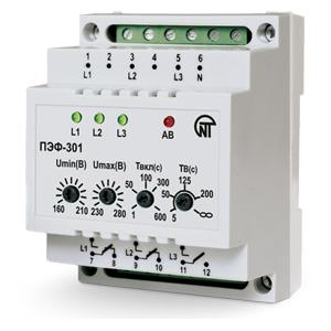 ПЭФ-301 переключатель фаз электронный